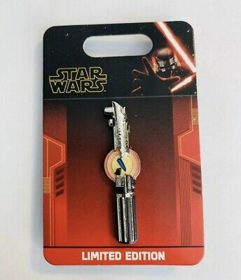 Disney Star Wars Rise of The Skywalker Reforged Lightsaber Pin LE 3500 New
