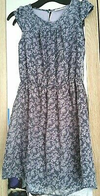 Lovely grey winter or summer girls Next long dress age 10Good condition