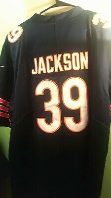 39 Eddie Jackson 3XL Jersey Chicago Bears Football NFL 100th All Colors