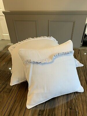 Baby D'oro Pillows - Pale Blue- Paid £90 For Set