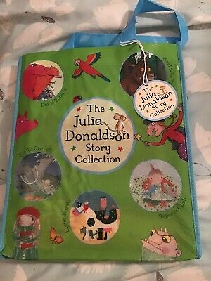 THE JULIA DONALDSON STORY COLLECTION WITH BAG (10 BOOKS) New RRP £68.90