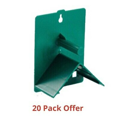 20 x V Plastic Roost Perches For Budgies, Finches, Canaries, Pigeons, Bird Perch