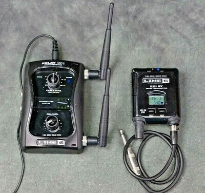 Line 6 Relay G50 Guitar Wireless System, Transmitter/Receiver, No Reserve!!!