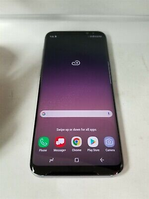 Samsung Galaxy S8 Plus 64GB Orchid Gray SM-G955U Verizon Android Smrtphne BW5835