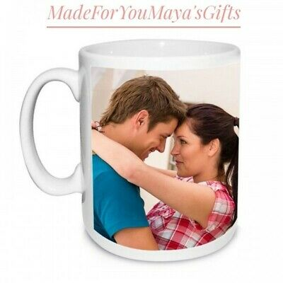 Personalised Photo Mug Custom Cup Text Image Name Logo Design Personalised Gifts