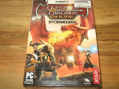 Dungeons and Dragons Stormreach Expansion - Windows PC Game - Retro - Vintage