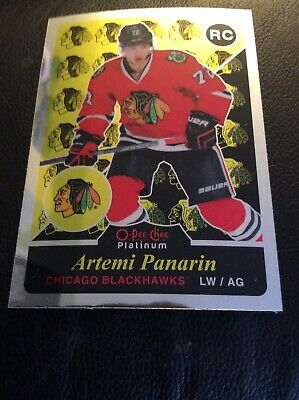 2015-16 OPC Platinum Rookie Retro Artemi Panarin Chicago Blackhawks! R79