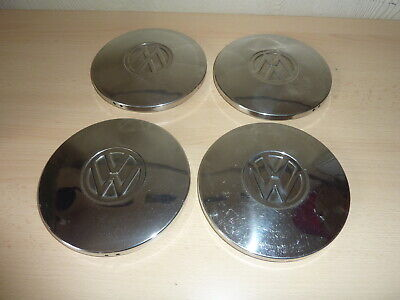 4 enjoliveur vintage chromé combi volkswagen 150 mm