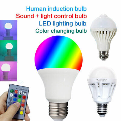 E27 LED Energy Saving Bulb Light 5 Lamp DC 12V -85V AC 85- 265V 110V 9W 12W 15W