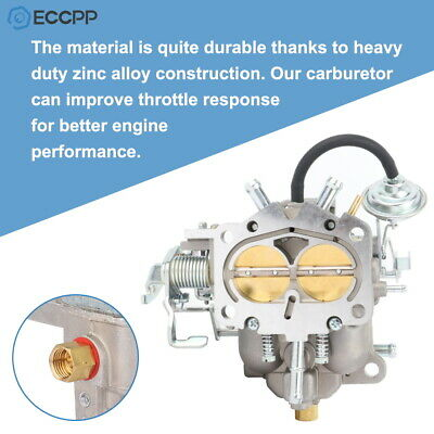 Idle Stop Soleniod Carter 213-8511 For 83-85 Carter 1bbl W M//T 2.3L Eng