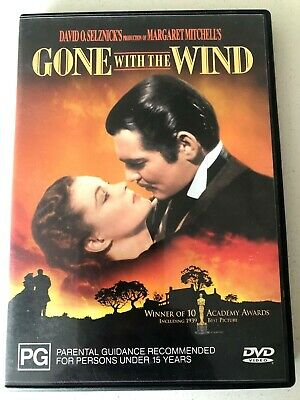 Gone With The Wind dvd + FREE POST