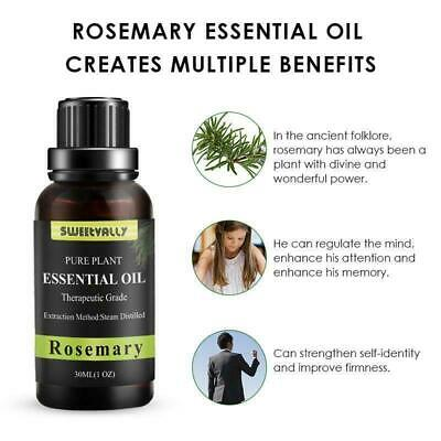 Essential Oils Pure 30ml Aromatherapy Natural Organic Oil Fragrances Therapeut