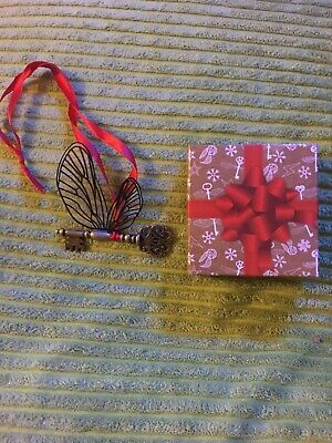Cherry Wallis Magical Harry Potter Flying Winged Key Decoration Christmas Gift