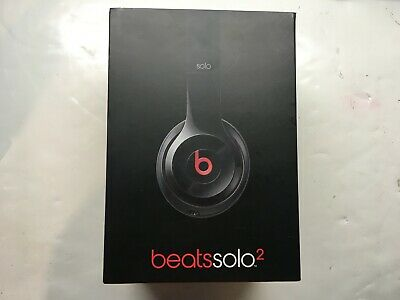 Beats by Dr. Dre Solo 2 Wired Headband Headphones Black