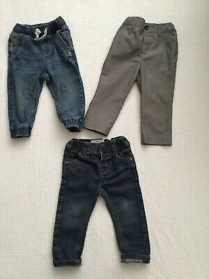 Next, Mini Club Baby Boys 12-18 Months Jeans Trousers Bundle Combined Post