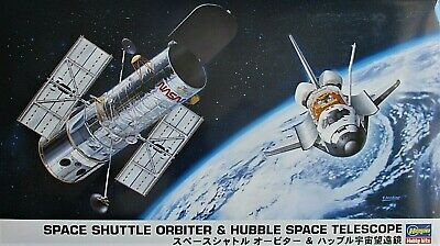 NASA Space Shuttle [STS] Atlantis & Hubble Telescope Ltd.Ed Hasegawa Model 1/200