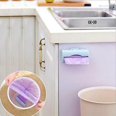 Kitchen Hanging Rubbish Waste Bag Carrier Bag Bin Holder Camping Plastic BB