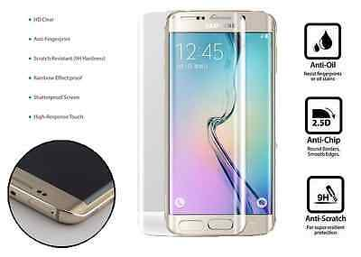 100% Genuine Tempered Curved Glass Film Screen Protector Samsung Galaxy S6 EDGE