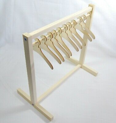 Wooden Clothes Rail or Clothes Hangers for Rack - Various Sizes