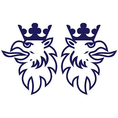 Scania Truck Griffin Sticker Decals For Mirrors HGV 18x14cm Choice Of Colours X2