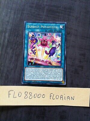 YUGIOH  Sursaut Potartiste (Performapal Popperup) : LED6-FR047 -VF/Rare-