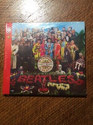 THE BEATLES - Sgt. Pepper's Lonely Hearts Club Band. Sealed CD 2009