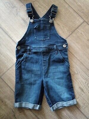 NEXT Boys Age 2-3 Years Denim Short Dungarees Summer Wear