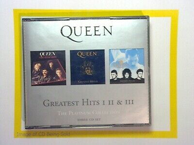 Queen	The Platinum Collection: Greatest Hits I, II & III 3CD 2000