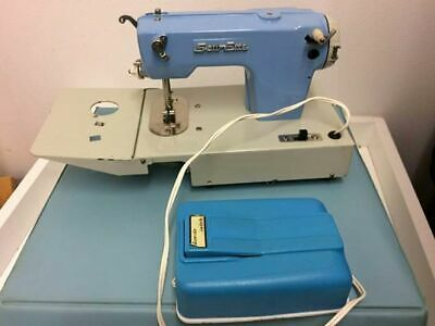 Vintage Collectible  toy sewing machine Sew Ette Battier or manual