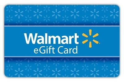 $50 Walmart Gift Cards * Shipped Fast * NEW * (5 x $10) READ DESCRIPTION