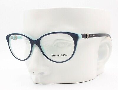 Tiffany & Co. TF 2113 8165 Eyeglasses Glasses Pearlescent Navy on Blue 52-16-140