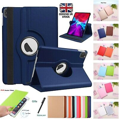 360 Rotating Smart Stand Case Cover For Apple iPad 9.7 AIR 2,10.2,Air 3 Pro