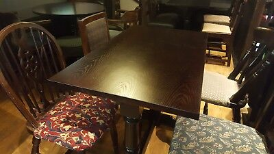 Refurbished tables in assorted shapes & sizes.  Suit pub, restaurant, cafe etc.