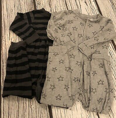 2-3 Years Boys Grey H&m Jumpsuits X 2