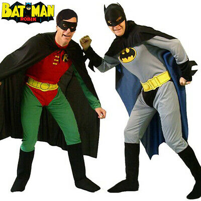 NEW Adult Licensed Batman The Riddler Mens Fancy Dress Stag Party Costume Outfit