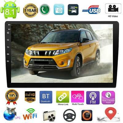 """9"""" 2 DIN Android 8.1 Car Stereo MP5 Player GPS WiFi BT FM Radio Speed Display"""