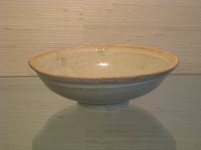 Chinese Yuan to Ming Dynasty Celadon Bowl