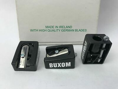 Buxom Professional Cosmetic Pencil Sharpener with High Quality German Blades