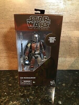 Star Wars Black Series Carbonized Graphite The Mandalorian Target Exclusive!