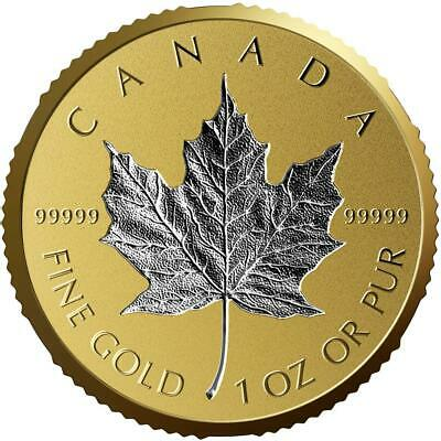 Canada 2018 200$ 30th Anniversary of the Silver Maple Leaf 1 oz. Pure Gold Coin