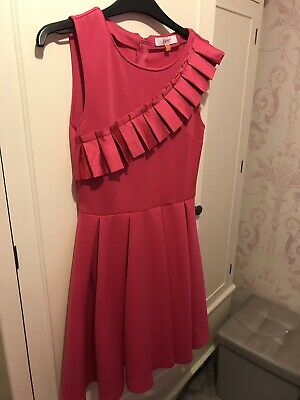 Girls Pink Ted Baker Dress Age 12