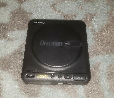 Vintage Sony Discman D-22 Portable CD Player - Working