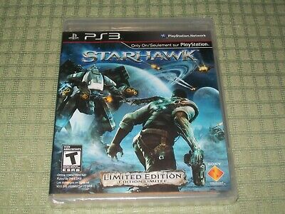 BRAND NEW - Starhawk - Limited Edition (Sony Playstation 3) PS3 Shooter Game