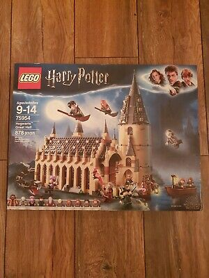 938 Pcs Harry Potter 75954 Wizarding World Hogwarts Great Hall New 2019 LeGo-E