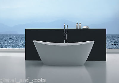 Bathroom Acrylic Free Standing Bath Tub 1500 x 750 x 680 Model Aphrodite