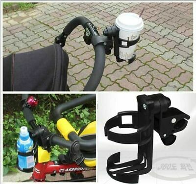 Baby Stroller Cup Holder Universal Children Bicycle Black Bottle Rack Organizer