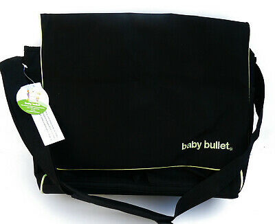 Baby Bullet Thermal Black Insulated To Go Bag New