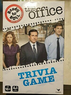 THE OFFICE TRIVIA GAME BoardGame NEW