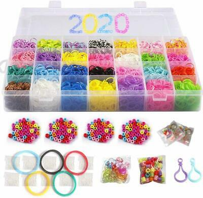 600 ct Rainbow Loom Moon Stone Rubber Bands Refill Pack