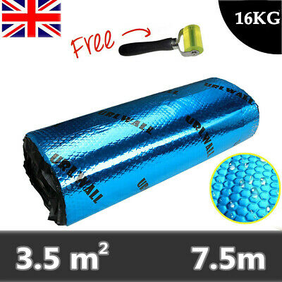 Auto Premium Car Van Sound Deadening Proofing Damping Mat 2mm 7.5mx46cm Blue UK